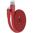 devia ring y1 micro usb cable 080m red photo
