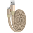devia ring y1 type c cable champagne gold photo
