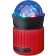 trust 21346 dixxo go wireless bluetooth speaker with party lights red photo
