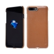 nillkin n jarl wireless charger back cover case for apple iphone 7 plus brown photo