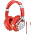 motorola pulse max over ear wired headphones red photo