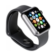 apple watch 1 mp032 42mm grey aluminum case with black sport band photo