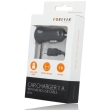 forever car charger mini usb 1a m 01 25m black photo