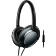 philips shl4805dc 00 flite over ear headphones with mic black photo