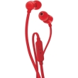 jbl tune 110 in ear headphones with microphone red photo