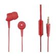 hama 137438 basic in ear headset red photo