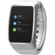 mykronoz zewatch 4 nfc enabled smartwatch white silver photo