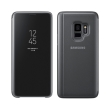 samsung flip case clear view standing cover ef zg960cb for galaxy s9 black photo