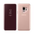 samsung flip case clear view standing cover ef zg960cf for galaxy s9 gold photo
