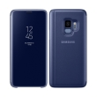 samsung flip case clear view standing cover ef zg960cl for galaxy s9 blue photo