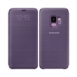 samsung led view cover ef ng960pv for galaxy s9 violet photo