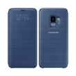 samsung led view cover ef ng960pl for galaxy s9 blue photo