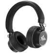 audictus abh 1265 winner wireless headphones with microphone black photo