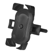 logilink aa0120 smartphone bicycle holder with double lock photo