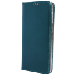 smart magnetic flip case for huawei p40 lite e dark green photo