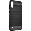 forcell carbon back cover case for samsung galaxy m11 black photo