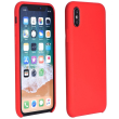 forcell silicone back cover case for huawei p40 lite e red photo