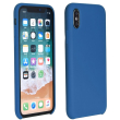 forcell silicone back cover case for huawei p40 lite e blue photo