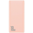 baseus bipow powerbank 10000mah quick charge 30 pd 18w pink photo