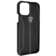 original leather back case lamborghini huracan d1 lb hcip11m hu d1 bk apple iphone 11 pro max black photo