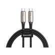 baseus cable water drop shaped lamp type c pd20 60w flash charge data cable 20v 3a 1m black photo
