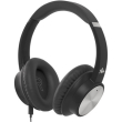 audictus abh 1564 conqueror anc wireless headphones with microphone black photo