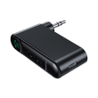 baseus qiyin aux car bluetooth receiver black photo