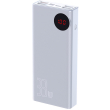 baseus mulight digital display powerbank 33w 30000mah quick charge 30 pd 30 white photo