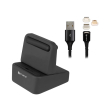 4smarts universal charging station wiredock with gravitycord 20 05m photo