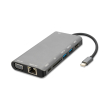 4smarts 8in1 hub usb type c to ethernet hdmi 3x usb 30 and card reader space grey photo
