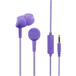 hama 184050 earphones basic 184050 microphone in ear ultra violet photo