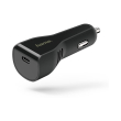 hama 178313 car charger usb type c port power delivery pd 3a black photo