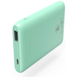 hama 188314 slim 5hd power pack 5000 mah mint green photo