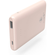 hama 188313 slim 5hd power pack 5000 mah pale pink photo