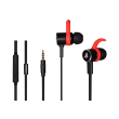 earphones a4tech mk820 in ear black red photo