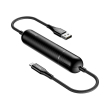 baseus energy two in one power bank cable 2500mah usb to lightning black photo