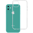 3mk clear back cover case for apple iphone 11 photo
