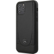 mercedes original faceplate back cover case mehcp12marmbk iphone 12 12 pro black photo