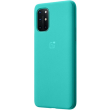 oneplus 8t sandstone bumper back cover case cyan photo