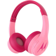 motorola squads 300 bluetooth wireless wired hands free headphones pink photo