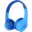 motorola squads 300 bluetooth wireless wired hands free headphones blue photo
