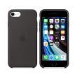 apple mxyh2 iphone se silicone case black photo