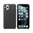 apple mx0e2 iphone 11 pro max leather case black photo