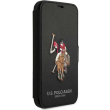 us polo original silicone case embroidery book for apple iphone 12 mini black photo
