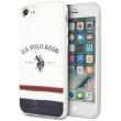 us polo original silicone case tricolore for apple iphone 8 apple iphone se 2020 white photo