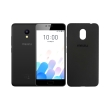 kinito meizu m5c dual sim tpu back cover screen protector black photo