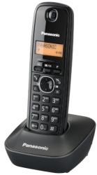 panasonic dect kx tg1611 black photo