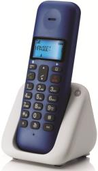 motorola t301rb dect cordless phone royal blue gr photo