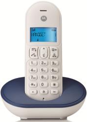 motorola t101p dect cordless phone royal blue gr photo