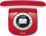 vtech ls1750 cordless phone red photo